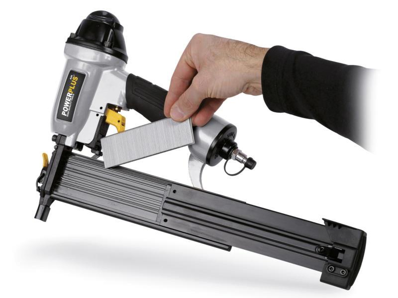 Powerplus Air POWAIR0311 pneumatisch niet- en nagelpistool
