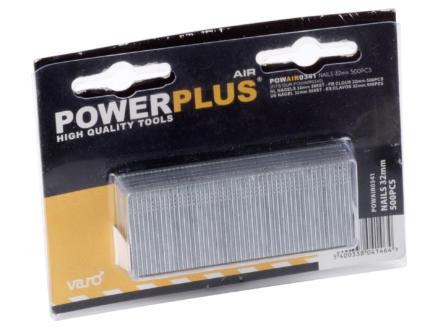 Powerplus Air POWAIR0320 clous 15mm 2000 pièces