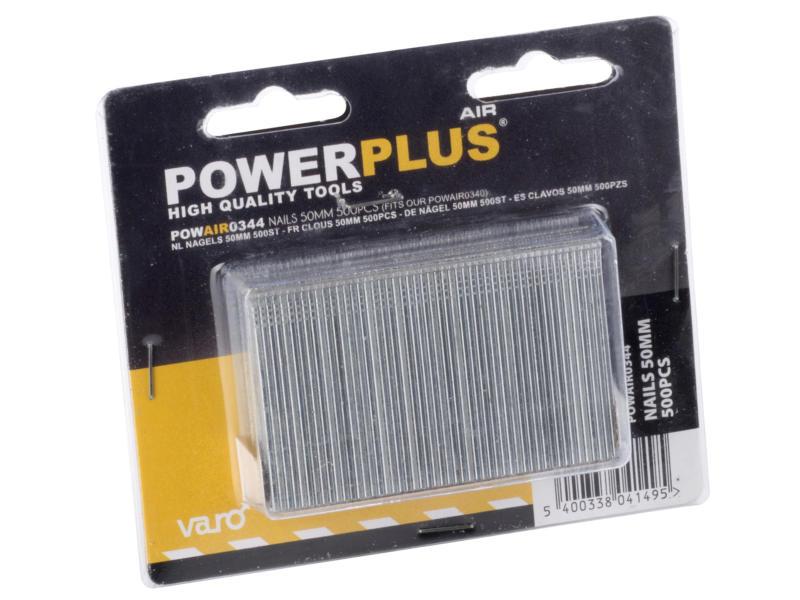 Powerplus Air POWAIR0322 clous 25mm 1000 pièces