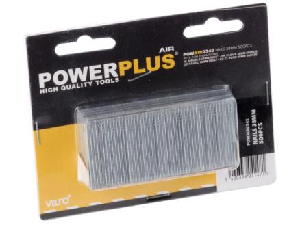 Powerplus Air POWAIR0342 nagels 38mm 500 stuks