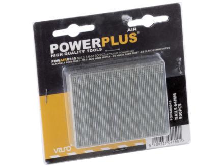 Powerplus Air POWAIR0345 nagels 64mm 500 stuks