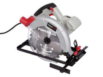 Powerplus POWC2030 scie circulaire 1200W 185mm