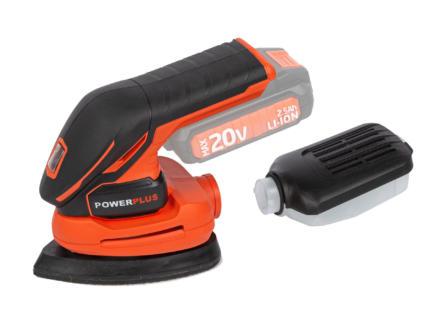 Powerplus Dual Power POWDP5020 handpalmschuurmachine 20V