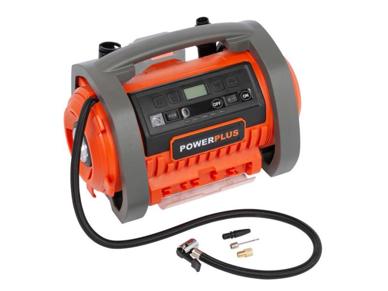 Powerplus Dual Power POWDP7040 compresseur 20V