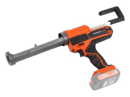 Powerplus Dual Power POWDP7050 pistolet à mastic sans fil 20V batterie non comprise