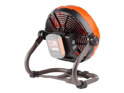 Powerplus Dual Power POWDP8015 ventilateur de table sans fil 20V batterie non comprise