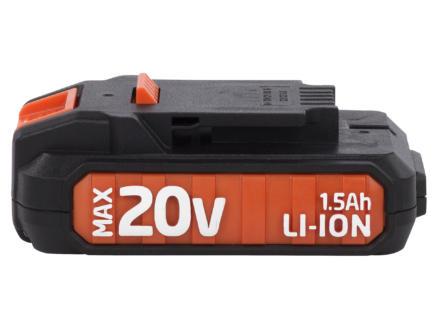 Powerplus Dual Power POWDP9010 batterie 20V Li-Ion 1,5Ah