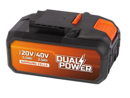 Powerplus Dual Power POWDP9037 accu 40V Li-Ion 2.5Ah