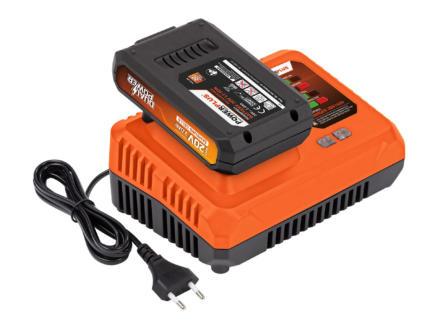 Powerplus Dual Power POWDP9051 chargeur de batterie 20/40V