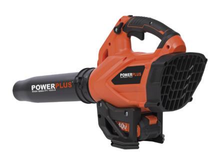 Powerplus Dual Power POWDPG7525 souffleur de feuilles sans fil 40V batterie non comprise