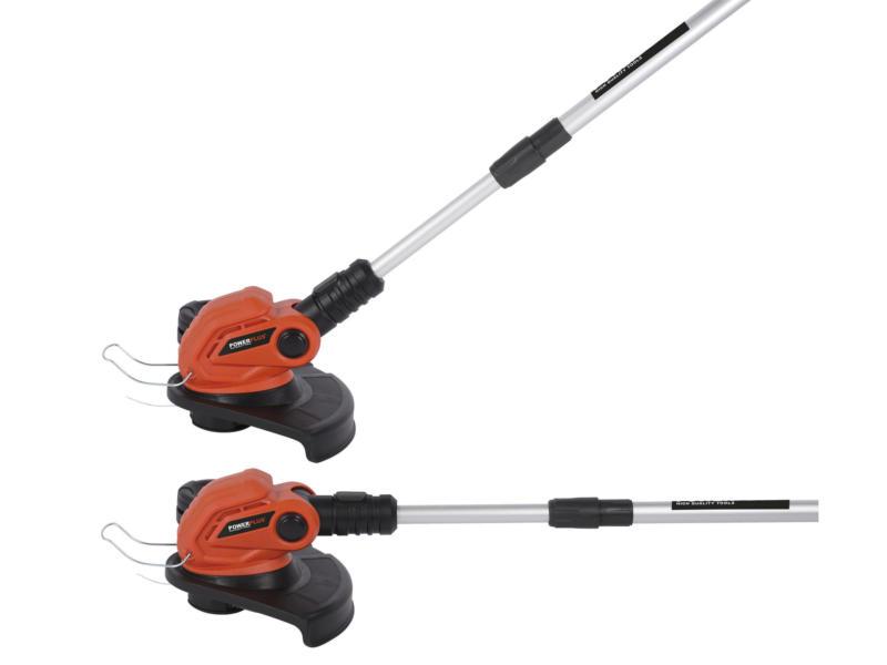 Powerplus Dual Power POWDPG7545 accu trimmer 40V Li-Ion 30cm zonder accu