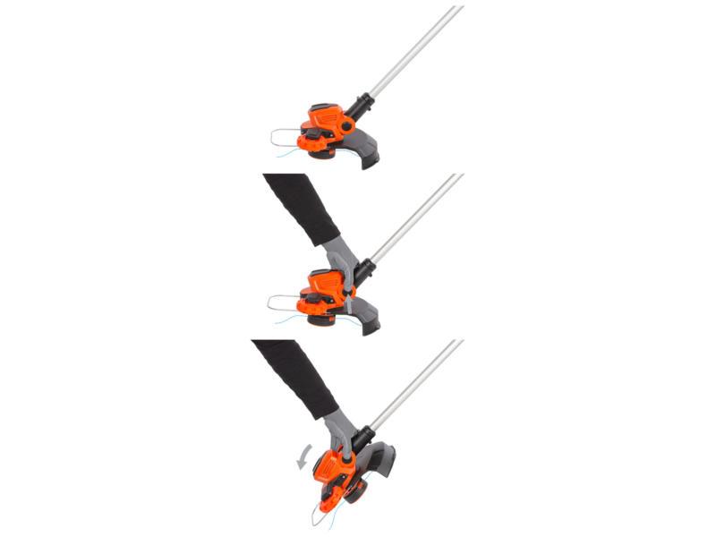 Powerplus Dual Power POWDPG7546 coupe-bordures sans fil 40V Li-Ion 30cm batterie non comprise