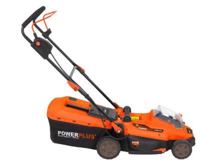 Powerplus Dual Power POWDPG7556 tondeuse sans fil 20V Li-Ion 33cm batterie non comprise