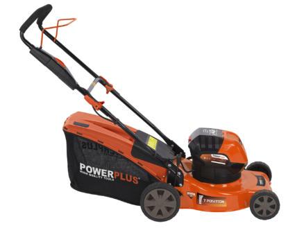 Powerplus Dual Power POWDPG7565 tondeuse sans fil 40V Li-Ion 40cm batterie non comprise