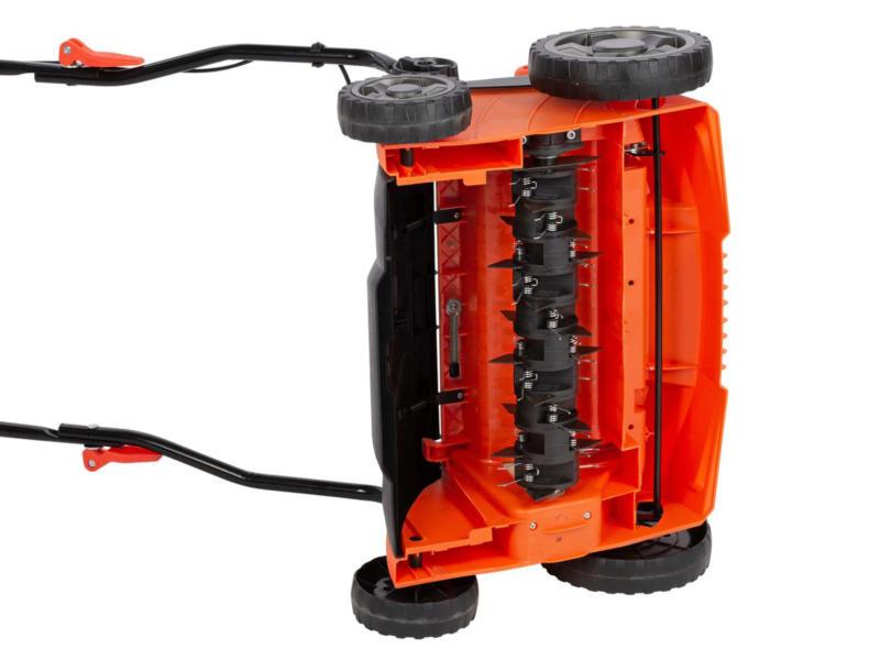Powerplus Dual Power POWDPG8020 accu verticuteermachine / verluchter 36cm
