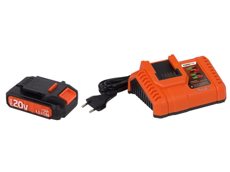 Powerplus Dual Power POWDPSET14 scie sauteuse 20V + batterie