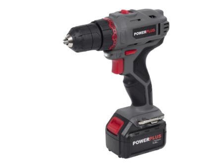 Powerplus POWE00031 schroefboormachine 14,4V Li-Ion + 14 accessoires