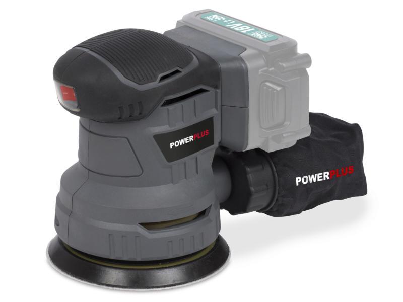 Powerplus POWEB4010 ponceuse rotative sans fil 18V Li-Ion batterie non comprise