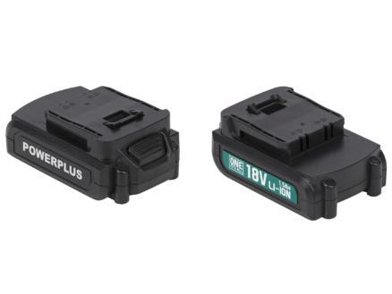 Powerplus POWEB9010 batterie 18V Li-Ion 1,5Ah