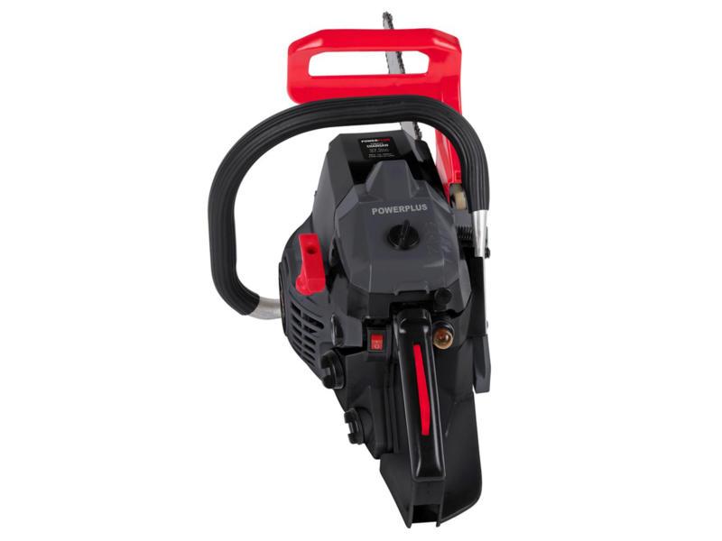 Powerplus POWEG2010 benzine kettingzaag 37,2cc 350mm