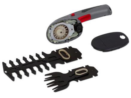 Powerplus EG POWEG4500 accu gras- en heggenschaar 7,2V 12cm