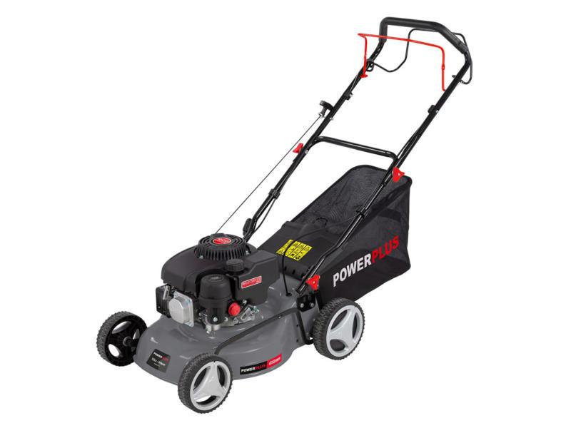 Powerplus POWEG63773 benzine grasmaaier zelftrekkend 132cc 41cm