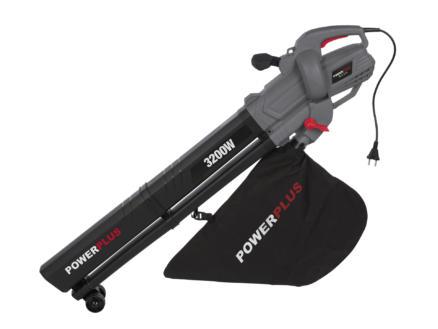 Powerplus POWEG9012 elektrische bladblazer- en zuiger 3200W