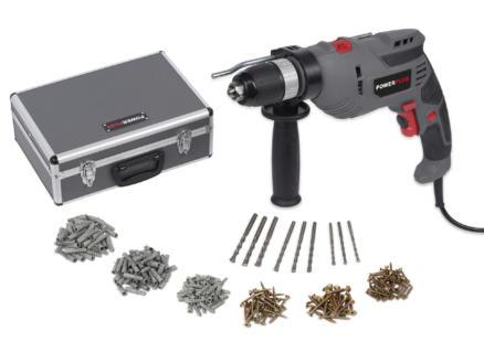Powerplus POWESET6 klopboormachine 720W + 259 accessoieres