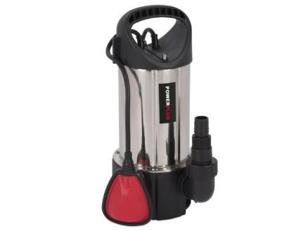 Powerplus POWEW67915 pompe vide-cave 900W eau chargée