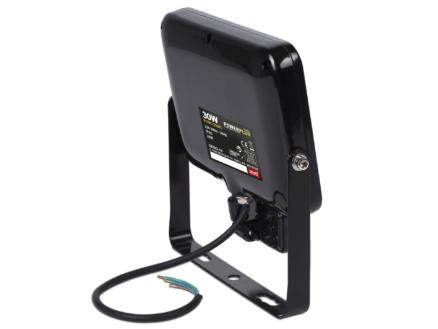 Powerplus POWLI20301 projecteur LED avec détecteur 30W noir