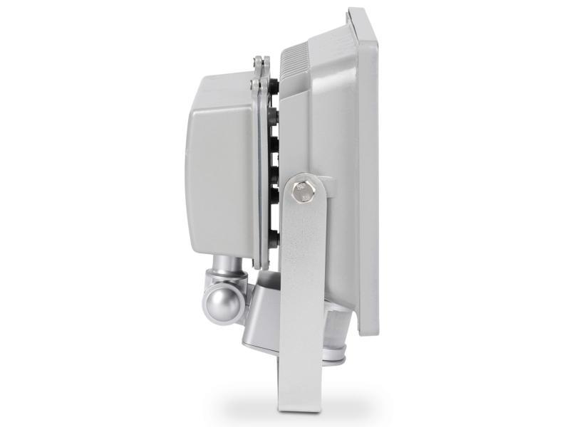 Powerplus POWLI261 Projecteur LED avec détecteur 50W gris