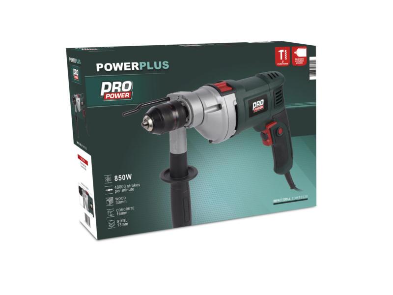 Powerplus Pro Power POWP2030 perceuse à percussion 850W