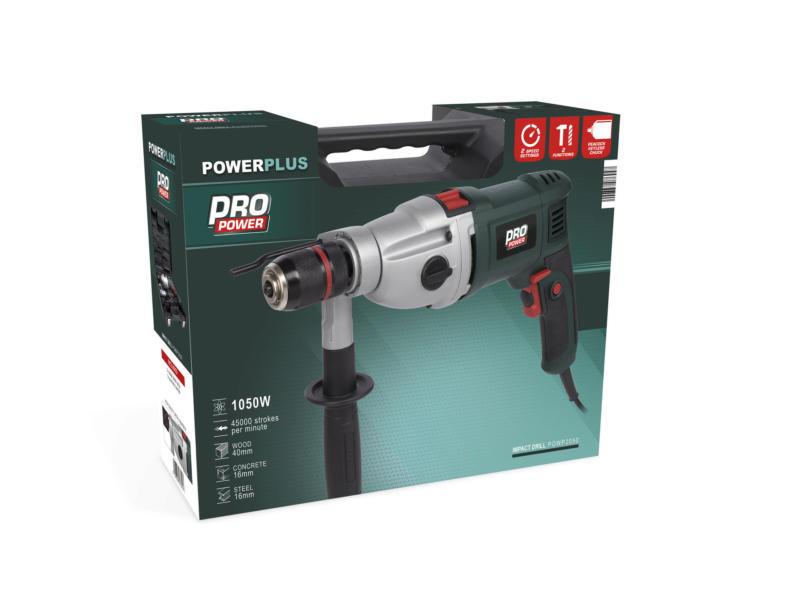 Powerplus Pro Power POWP2050 klopboormachine 1050W