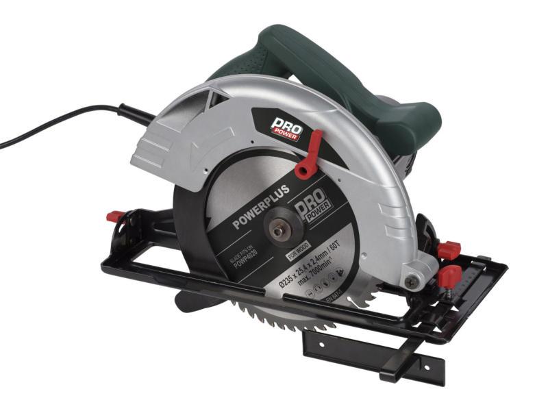 Powerplus Pro Power POWP4020 cirkelzaag 2000W 235mm