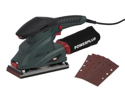 Powerplus Pro Power POWP5020 vlakschuurmachine 250W + 5 schuurbladen