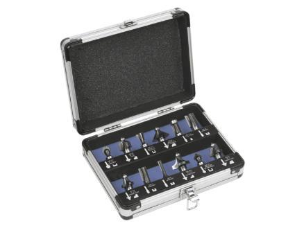 Powerplus Pro Power POWPRO163S koffer frezen 12-delig