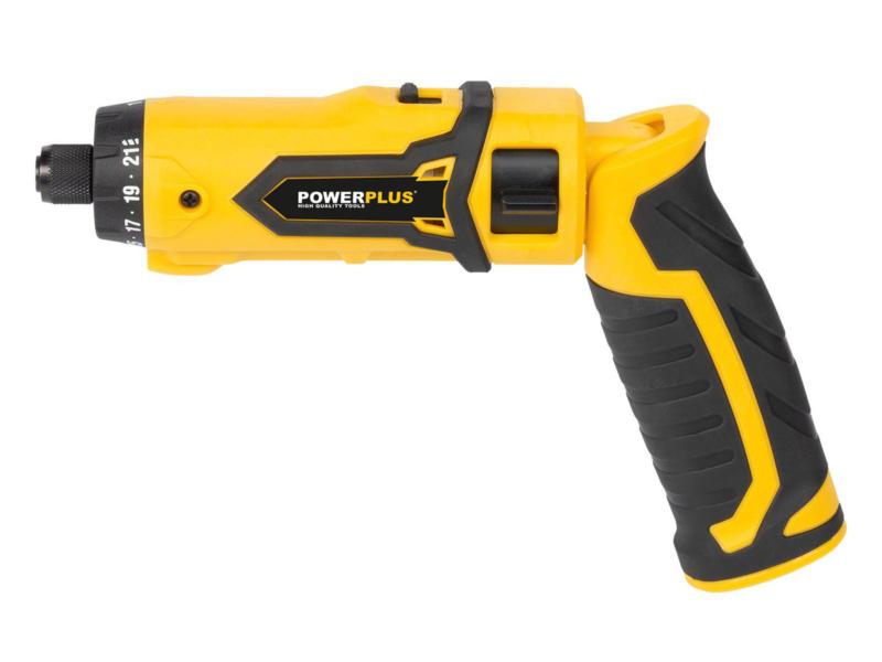 Powerplus POWX00410 schroefmachine 7,2V Li-Ion