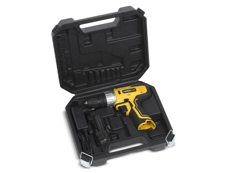 Powerplus POWX0041LI schroefboormachine 12V Li-Ion + koffer