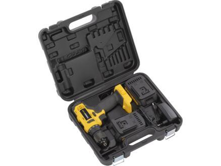Powerplus X Garden POWX00435 accu schroefboormachine 20V Li-Ion + 2 batterijen