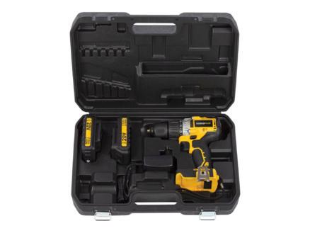 Powerplus POWX00450 accu klopboorschroefmachine 20V Li-Ion + 2 batterijen