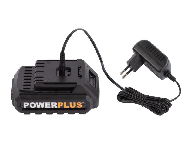 Powerplus X POWX00500 accu schroefboormachine 20V Li-Ion met 3 accu's + lader + 13 accessoires