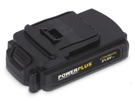 Powerplus POWX0050LI perceuse à percussion sans fil 21,6V Li-Ion