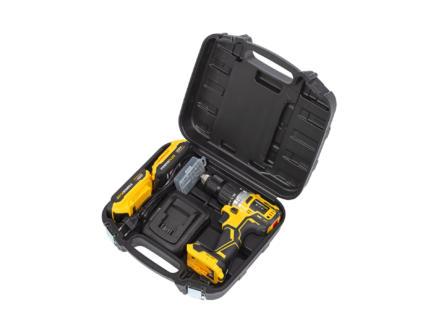 Powerplus POWX00510 accu schroef- en klopboormachine 20V Li-Ion met 2 accu's + lader + 2 accessoires