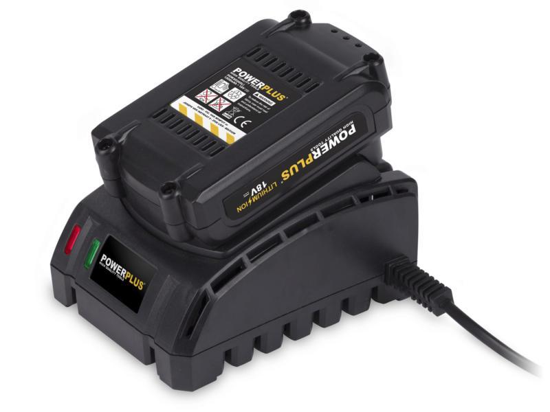 Powerplus POWX0070LI perceuse-visseuse 18V Li-Ion + accessoires