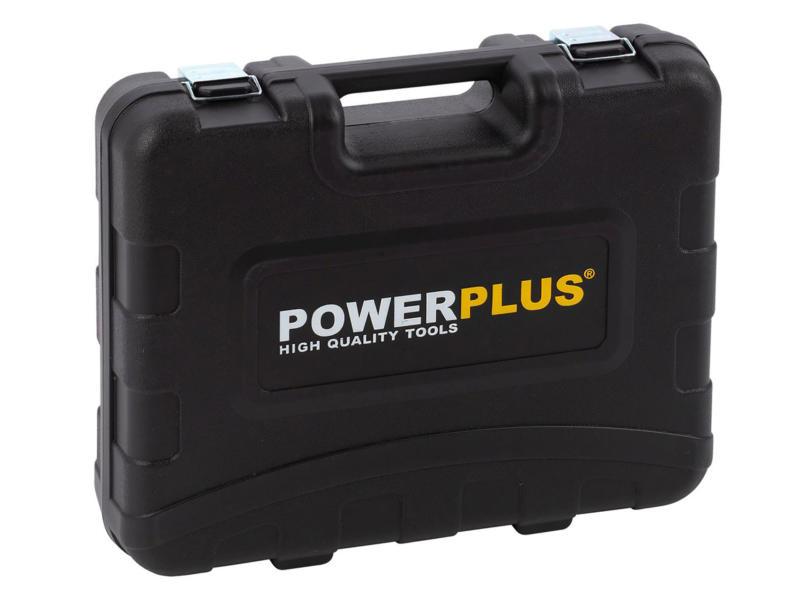 Powerplus POWX00825 perceuse-visseuse 20V Li-Ion + 2 batteries et 133 accessoires