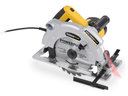 Powerplus POWX0550 cirkelzaag 1800W 210mm
