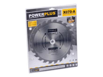 Powerplus POWX070A lame de scie circulaire 255mm 24D