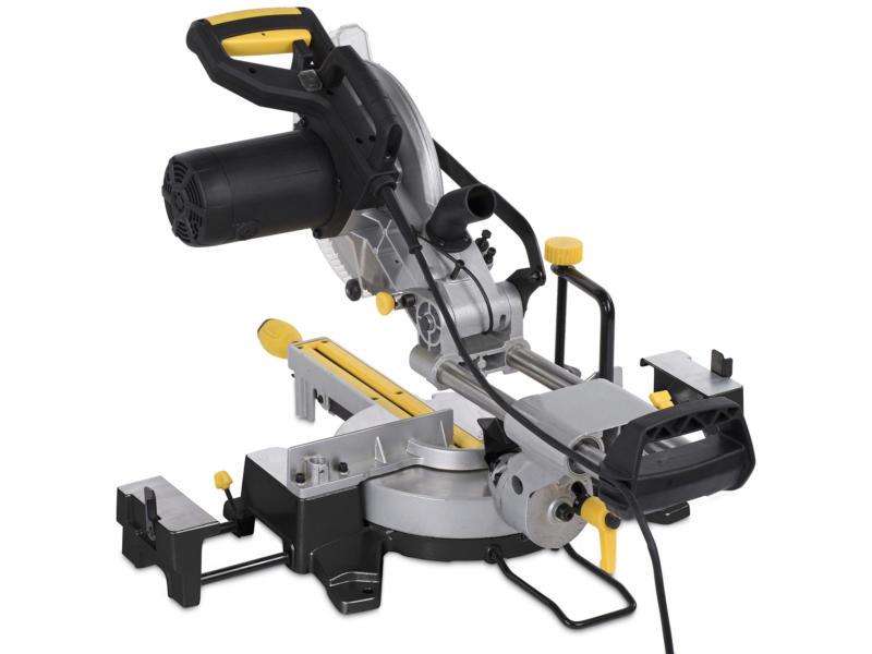 Powerplus POWX07568TX scie à onglet télescopique 2000W 254mm