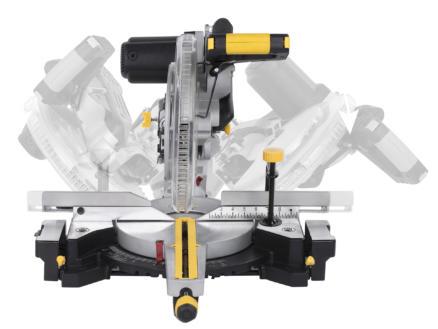 Powerplus POWX07573T scie à onglet télescopique 2000W 305mm