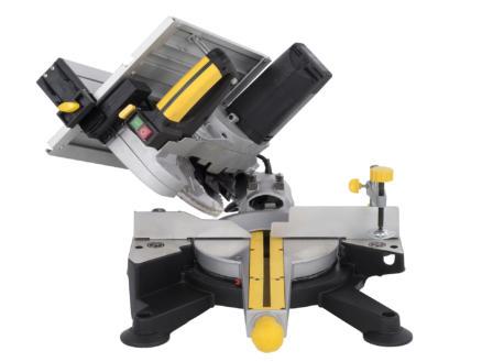 Powerplus POWX07582 scie à onglet 1800W 254mm